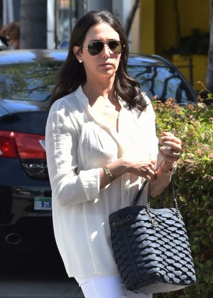Lauren Silverman - Out and about in Beverly Hills