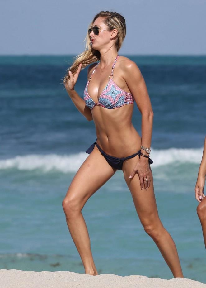 Lauren Stoner in Bikini on Miami Beach