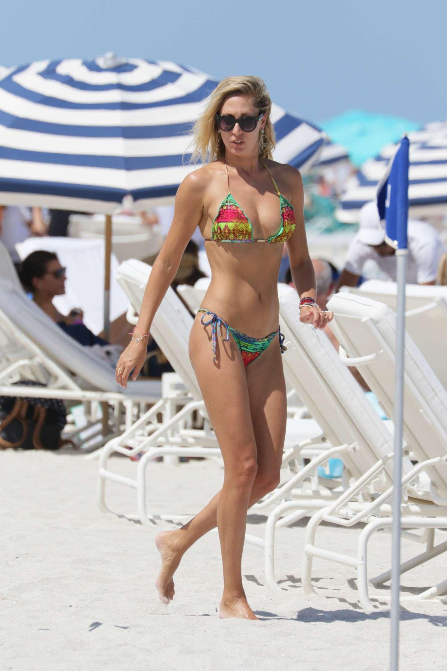 Lauren Stoner in Bikini in Miami