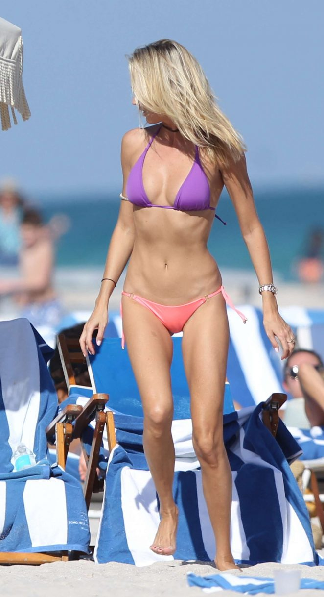 Lauren Stoner – Bikini Candids on Miami Beach