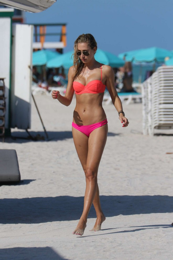 Lauren Stoner in Bikini in Miami