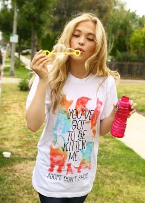 Lauren Taylor by Sara Jaye Weiss Photoshoot in LA