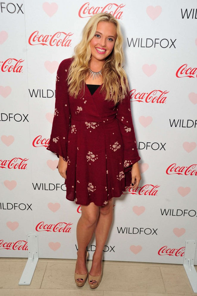 Lauren Taylor: Launch Party for WILDFOX Loves Coca-Cola Capsule Collection -01