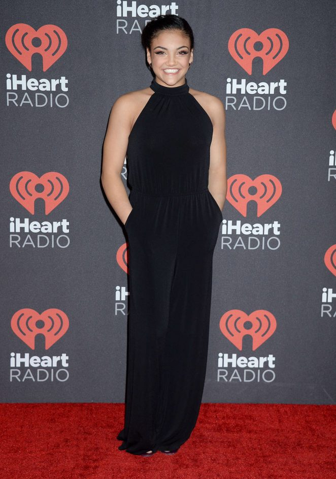 Laurie Hernandez - 2016 iHeartRadio Music Festival Day 1 in Las Vegas
