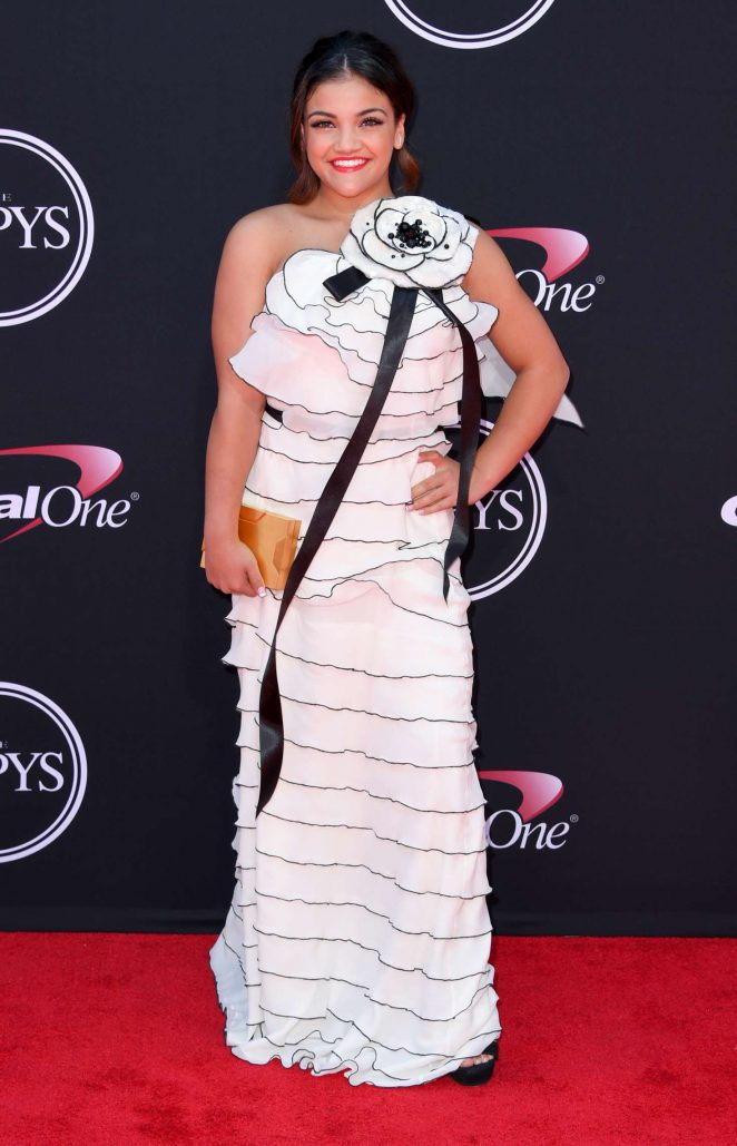 Laurie Hernandez - 2017 ESPY Awards in Los Angeles