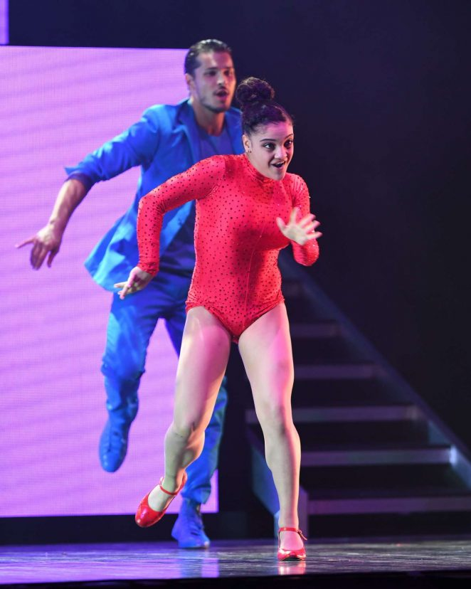 Laurie Hernandez Dancing With The Stars Live In Hollywood