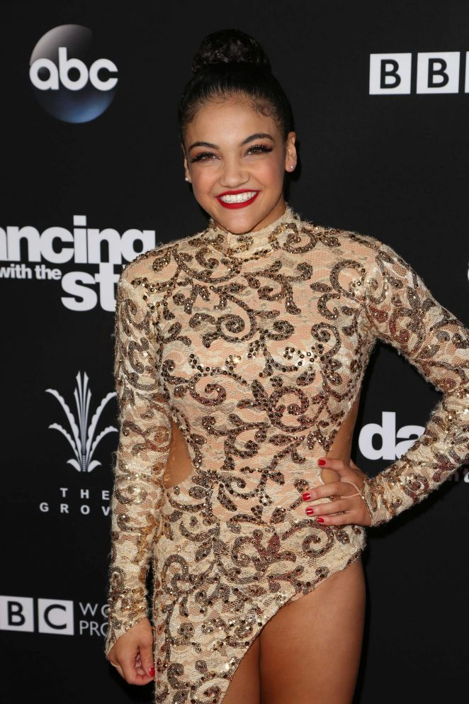 Laurie Hernandez - 'Dancing With the Stars' Season 23 Finale in Hollywood