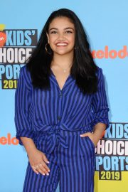 Laurie Hernandez - Nickelodeon Kids' Choice Sports Awards 2019 in Los Angeles