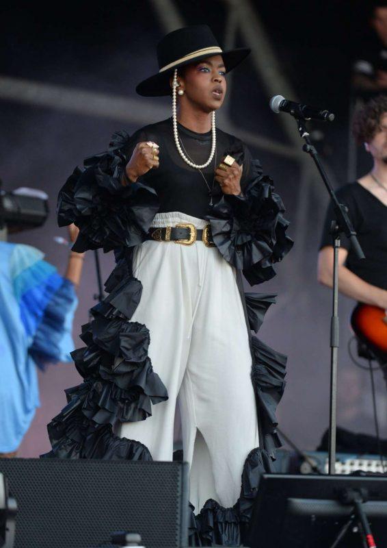 Lauryn Hill - Performs at Glastonbury Festival 2019 in Pilton
