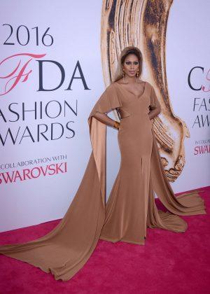 Laverne Cox - 2016 CFDA Fashion Awards in New York