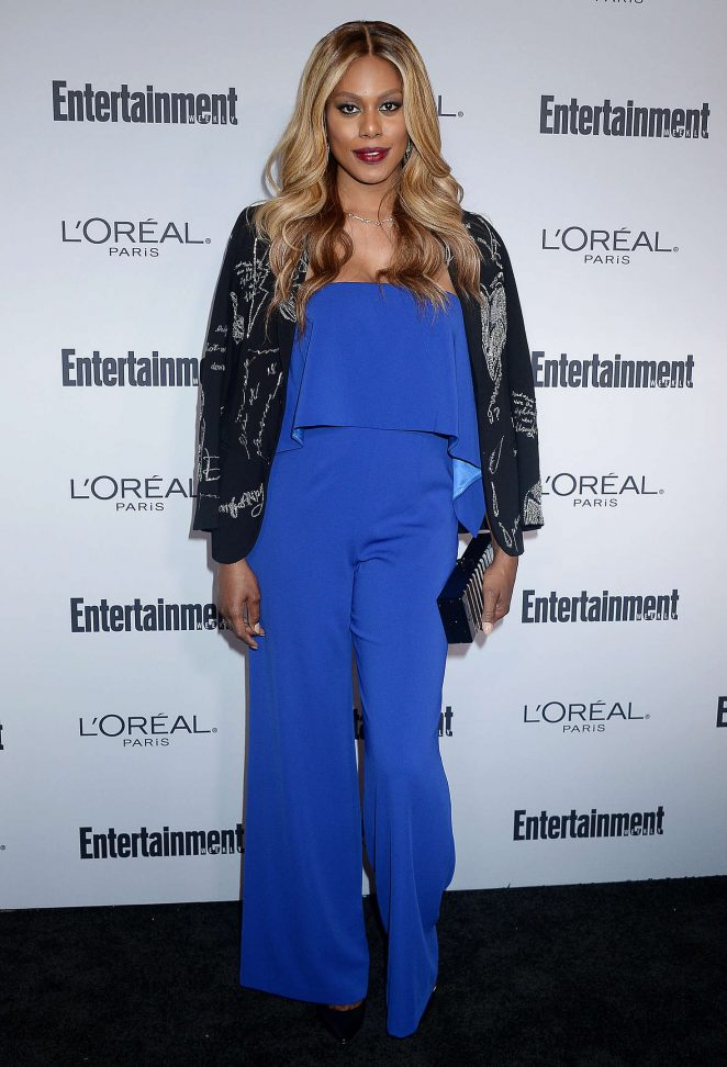 Laverne Cox - 2016 Entertainment Weekly Pre-Emmy Party in Los Angeles
