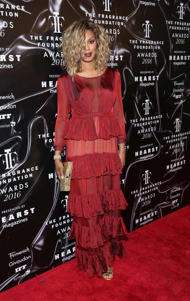 Laverne Cox - 2016 Fragrance Foundation Awards in New York