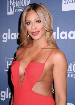 Laverne Cox - 2016 GLAAD Media Awards in NYC