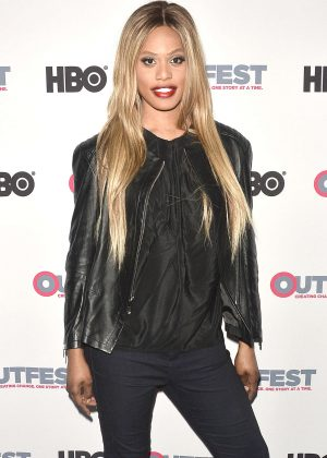 Laverne Cox - 2016 Outfest Screening of 'The Trans List' in West Hollywood