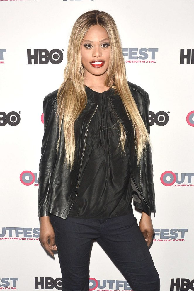 Laverne Cox: 2016 Outfest Screening of The Trans List -02