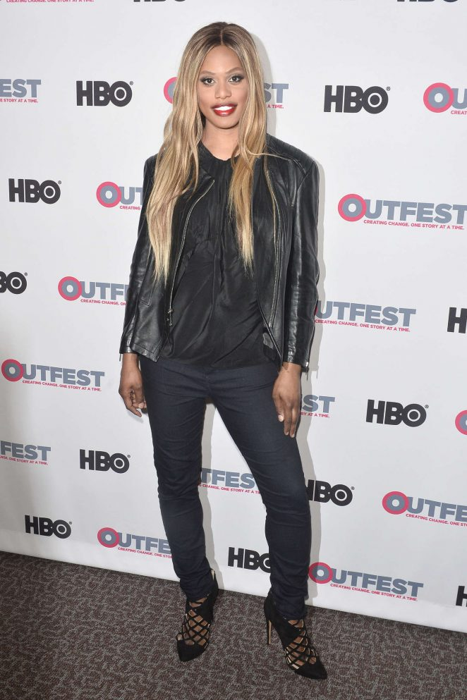 Laverne Cox: 2016 Outfest Screening of The Trans List -04