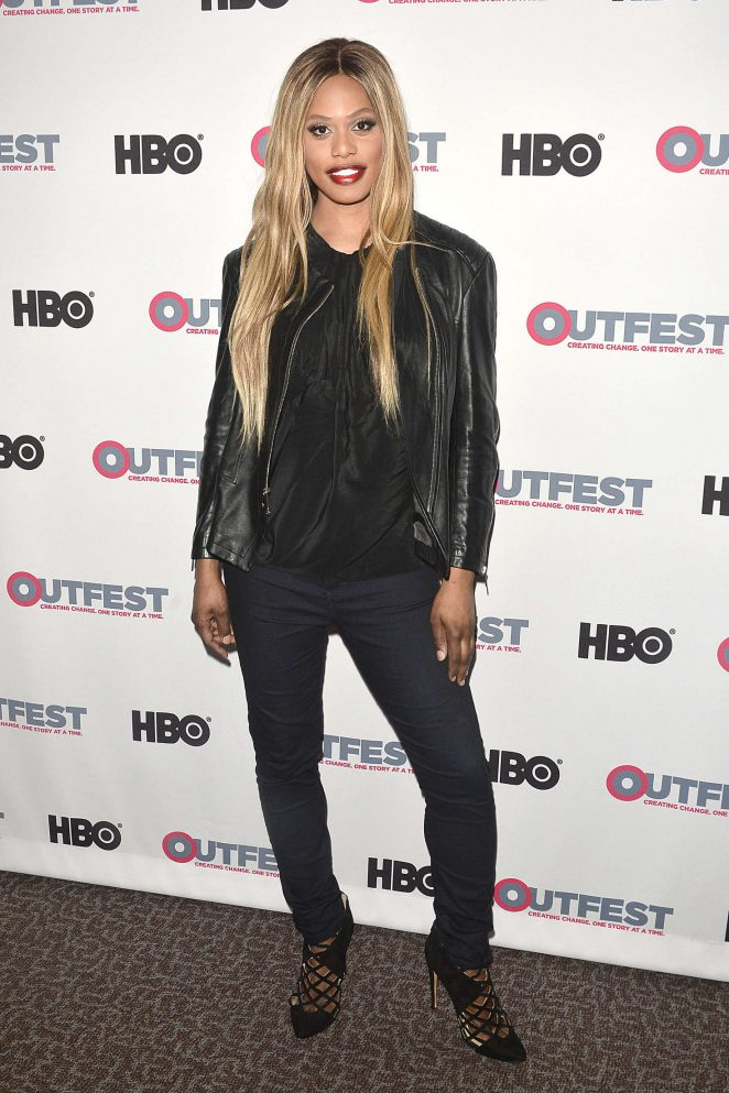 Laverne Cox: 2016 Outfest Screening of The Trans List -05