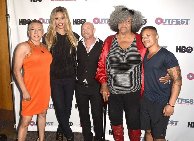 Laverne Cox: 2016 Outfest Screening of The Trans List -08