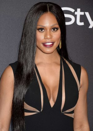 Laverne Cox - 2017 InStyle and Warner Bros Golden Globes After Party in LA