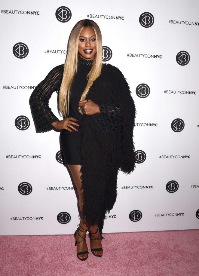 Laverne Cox - 2018 BeautyCon Festival Day 2 in New York