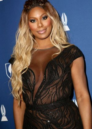 Laverne Cox - 2018 GLAAD Media Awards in New York