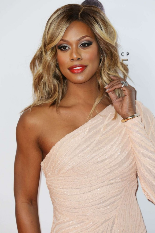 Laverne Cox - 2016 NAACP Image Awards in Pasadena