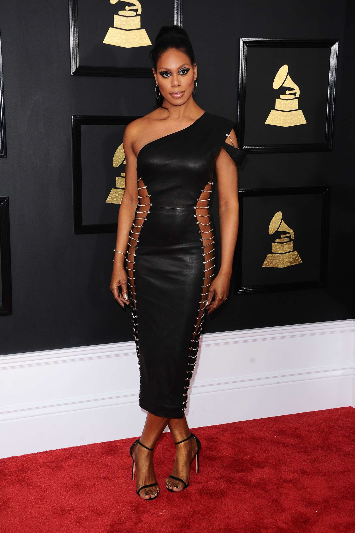 Laverne Cox - 59th GRAMMY Awards in Los Angeles