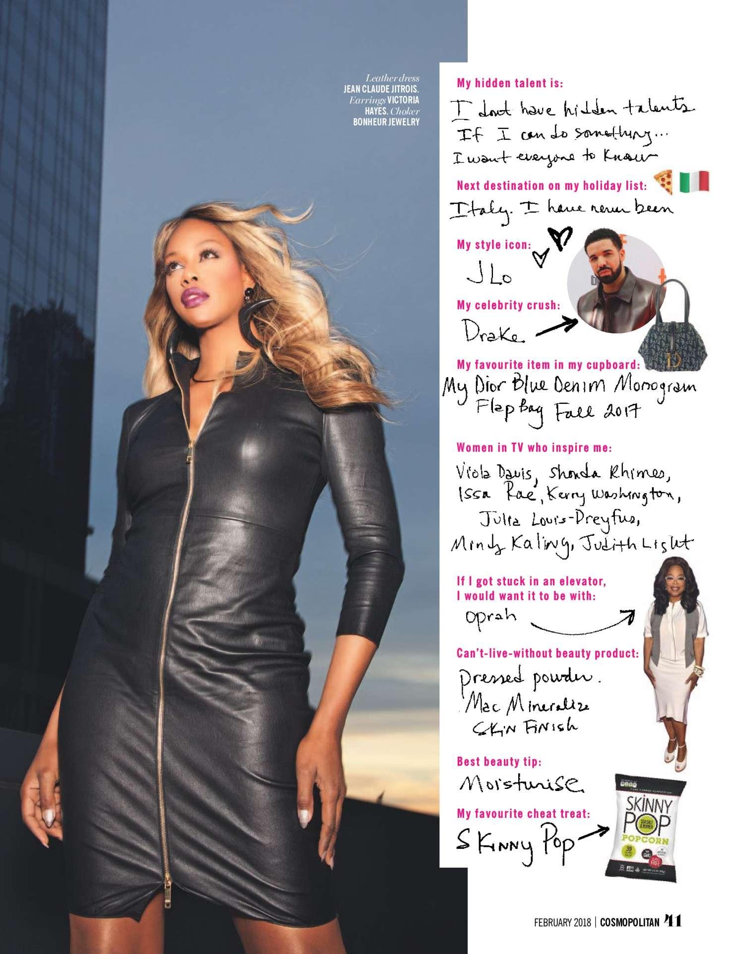 Laverne Cox 2018 : Laverne Cox: Cosmopolitan South Africa 2018 -08