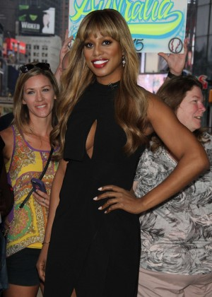 Laverne Cox - 'Good Morning America' in NYC