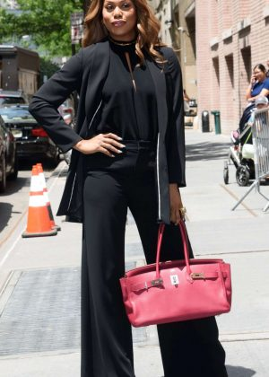 Laverne Cox in Black Out in New York