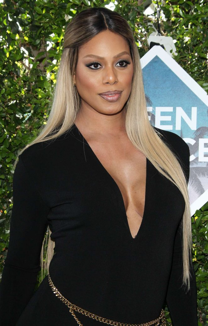 Laverne Cox - Teen Choice Awards 2016 in Inglewood