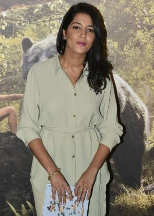 Leïla Bekhti - 'Le livre de la Jungle' Premiere in Paris