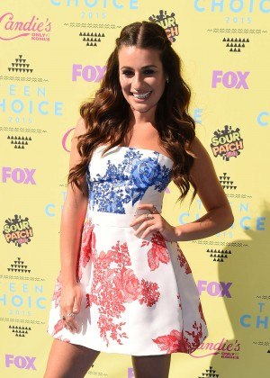 Lea Michele - 2015 Teen Choice Awards in LA