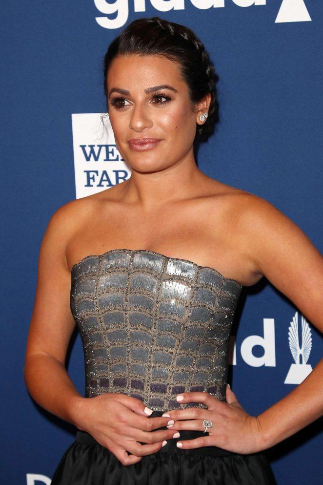 Lea Michele - 2018 GLAAD Media Awards in New York