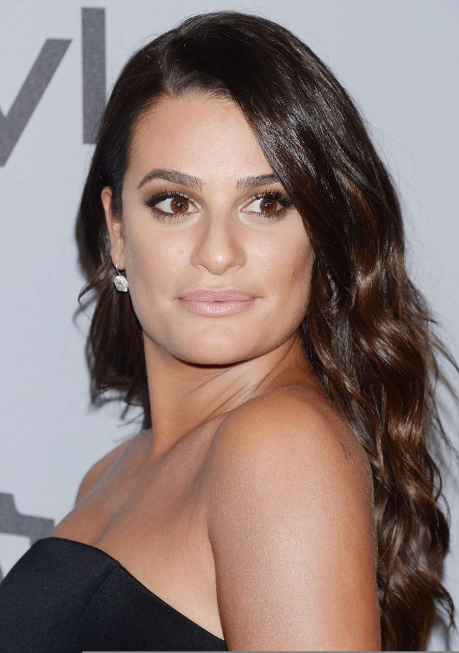 Lea Michele - 2018 InStyle and Warner Bros Golden Globes After Party in LA