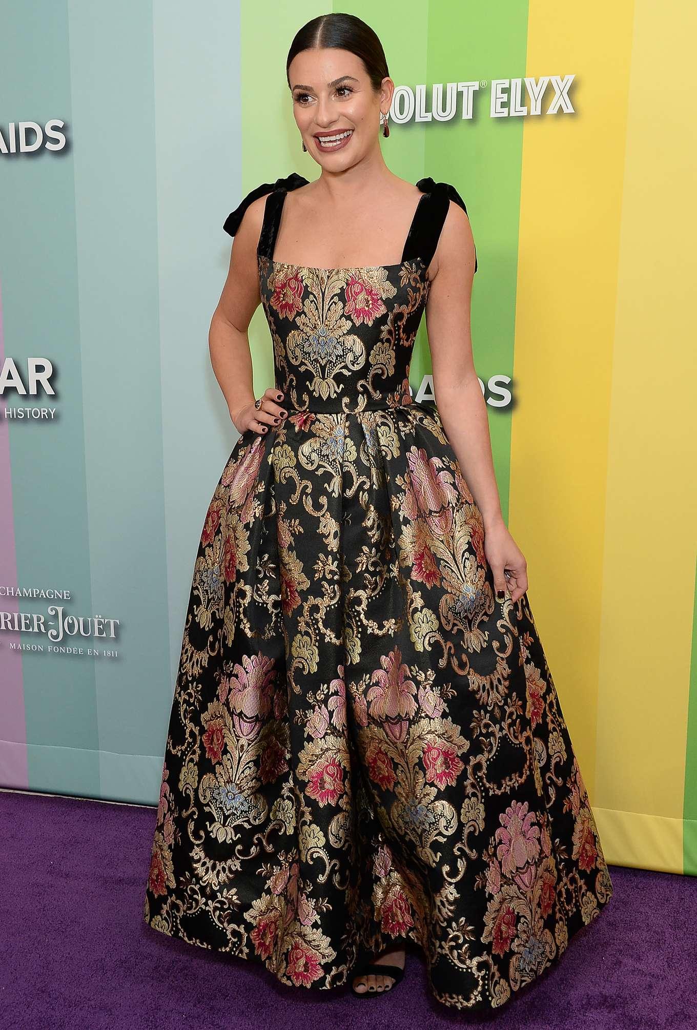 Lea Michele - 2019 amfAR Gala in Los Angeles