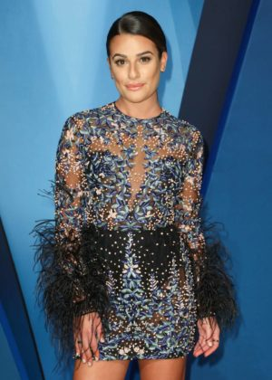 Lea Michele - 51st Annual CMA Awards in Nashville
