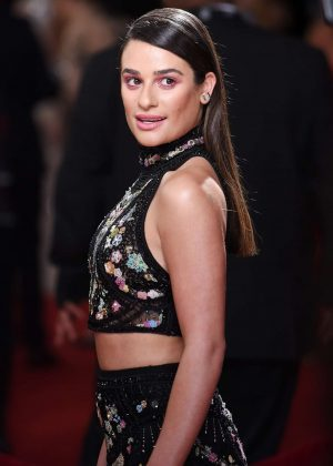 Lea Michele - 59th GRAMMY Awards in Los Angele