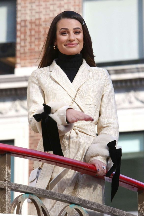 Lea Michele - 93rd Annual Macy's Thanksgiving Day Parade in New York City