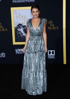 Lea Michele - 'A Star is Born' Premiere in LA