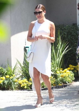 Lea Michele - Attends InStyle's 'Day of Indulgence' Party in Brentwood