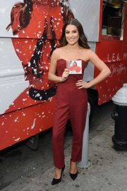 Lea Michele - 'Christmas in the City' Album Promotion in New York