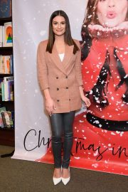 Lea Michele - 'Christmas In The City' CD Launch in New York