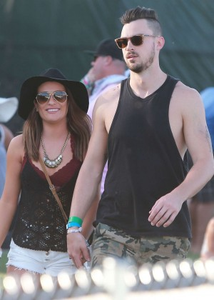 Lea Michele: Coachella Music Festival Day 2 -01