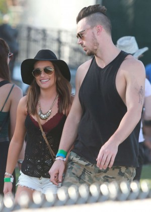 Lea Michele: Coachella Music Festival Day 2 -05