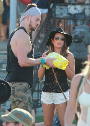 Lea Michele: Coachella Music Festival Day 2 -06