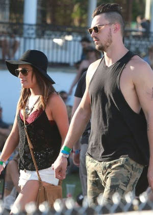 Lea Michele: Coachella Music Festival Day 2 -09
