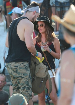 Lea Michele: Coachella Music Festival Day 2 -11