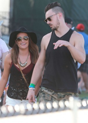 Lea Michele: Coachella Music Festival Day 2 -13