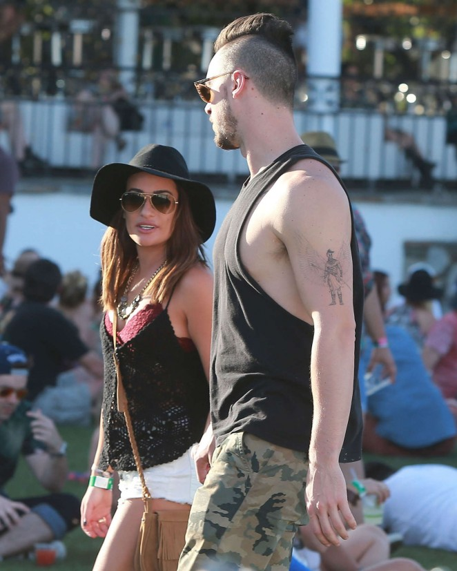 Lea Michele - Coachella Music Festival Day 2 in Indio